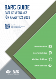 BARC Guide Data Governance für Analytics 2019