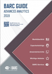 BARC Guide Advanced Analytics 2019