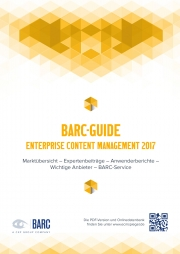 BARC Guide Enterprise Content Management 2017
